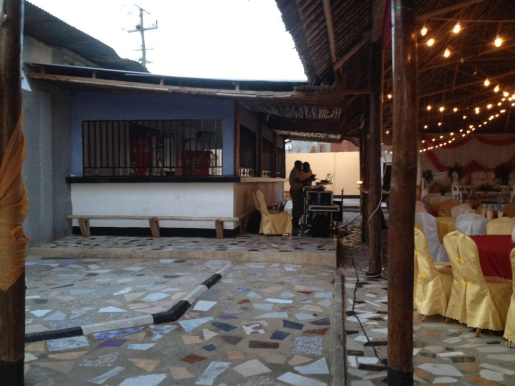 Jogoo Social Hall Dj Booth and Vendor Space